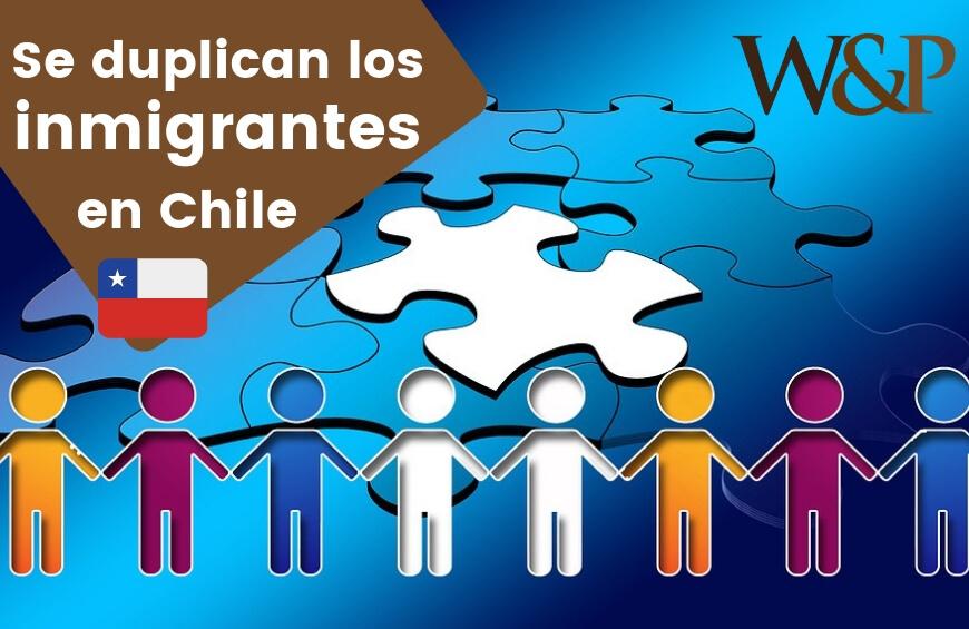 Inmigrantes en Chile se duplican