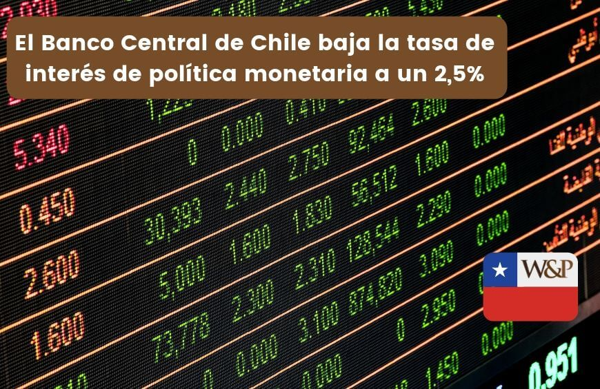 banco central chile baja tasa de interes politica monetaria