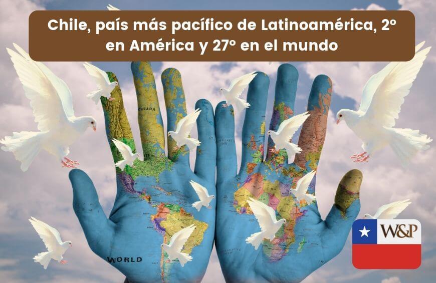 chile pais mas pacifico latinoamerica