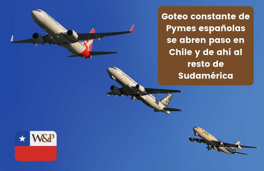 pymes españolas en chile y sudamerica