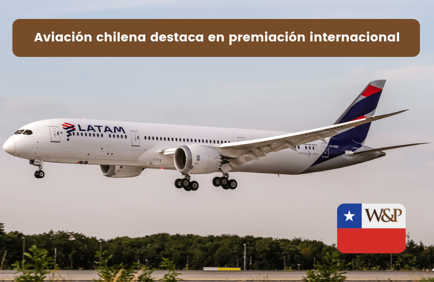 latam airlines premiada internacionalmente