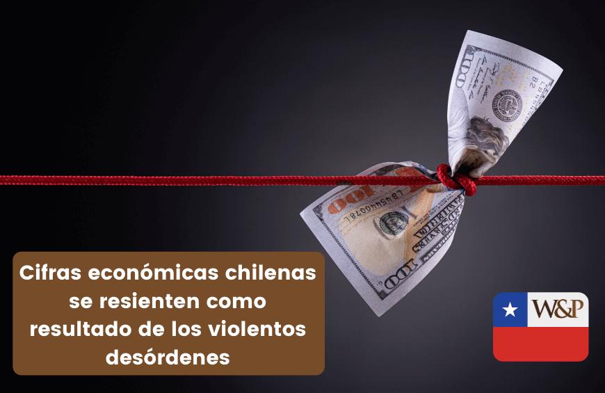 economia de chile se resiente por los desordenes