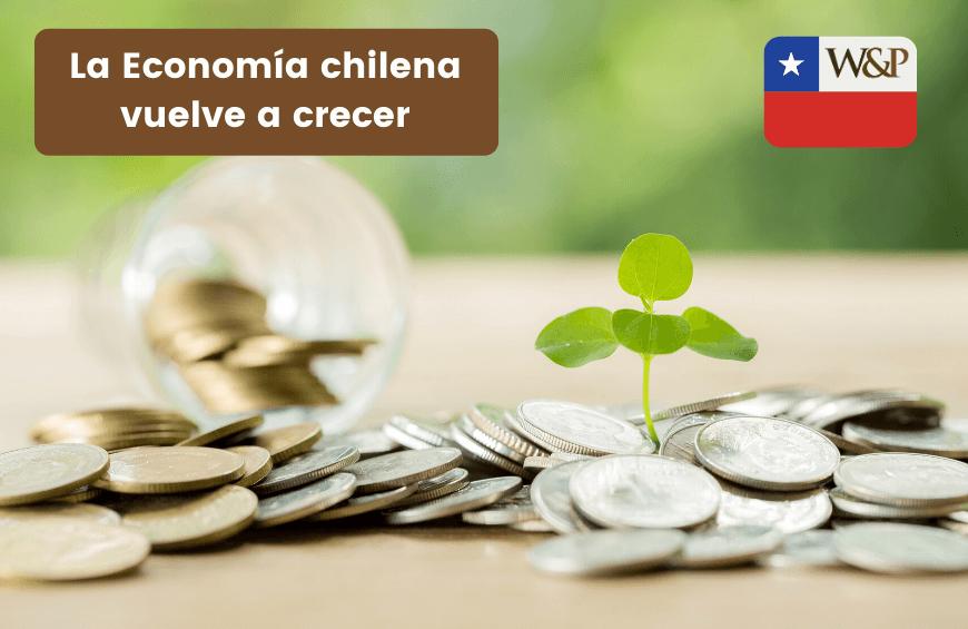 Economía chilena vuelve a crecer