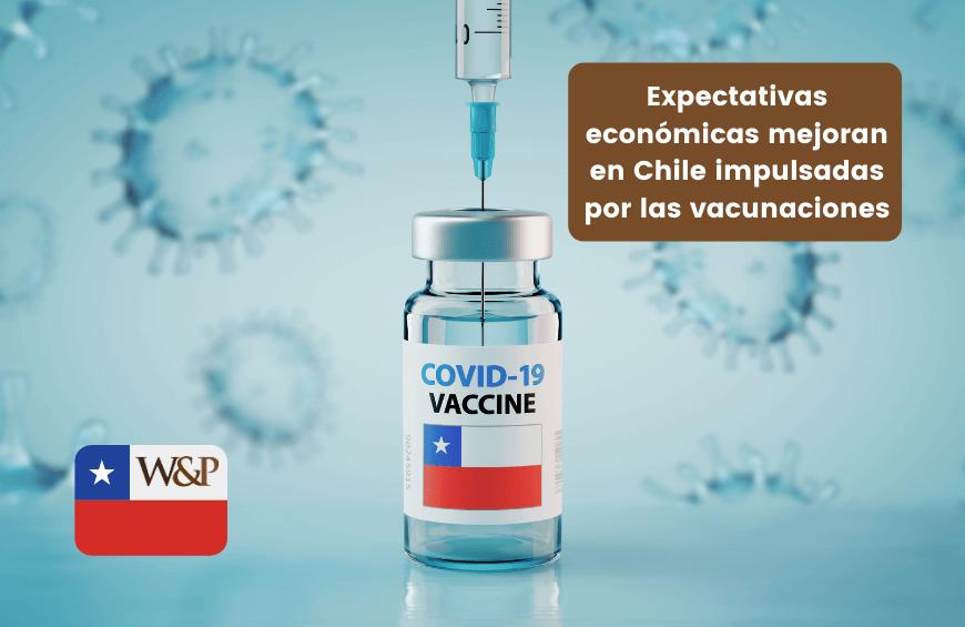 Expectativas economicas mejoran en Chile impulsadas por las vacunaciones